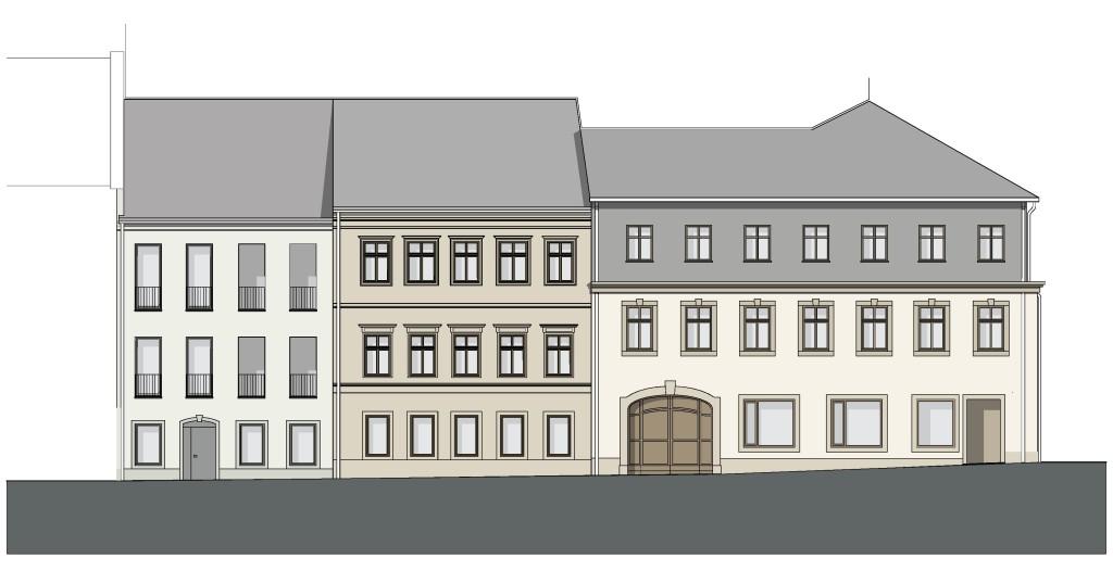 Ansicht Fassade Baderberg